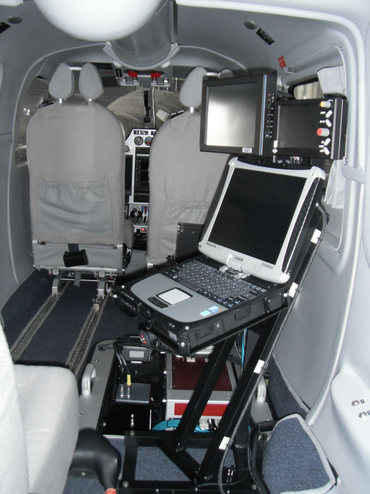 operator workstation for Lidar missions