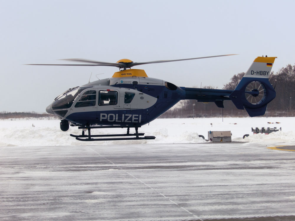 EC135 German Police