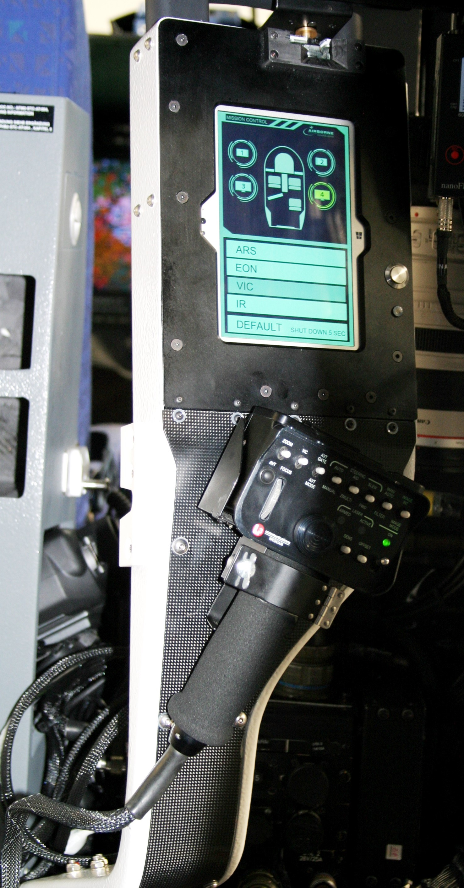 MMU integrated in a foldable control arm